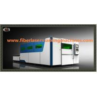Water Cooling Fibre Optic Laser Cutting Machines With Auto Feeding Shuttle Table
