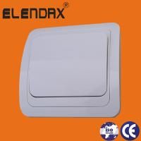 European style flush mounting one gang one way wall switch (F2001)