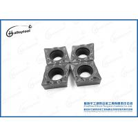 China Cnc Turning Tool Iso Metric 92.5 HRA cemented Carbide Inserts on sale