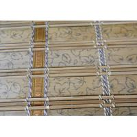 Quality Functional Bamboo Patio Shades , Bamboo Roman Window Shades Elegant Color for sale