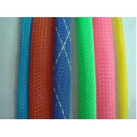 Quality PET Woven Mesh Shrinkable Tube Hose Pipe for sale