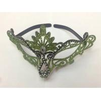 Best Halloween Venetian Masquerade Party Multicolor Hollow Gold Shining Mask wholesale