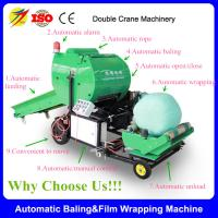 Buy cheap Double Crane Brand Full Automatic Mini Round Hay Balers from wholesalers