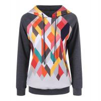 Quality OEM Custom Womens Sports Hoodies wholesale sports clothes with thin embossed pattern for sale