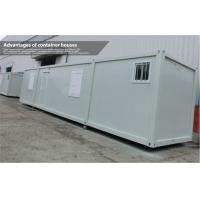 China Shipping Container Housing Prefab Homes 40 foot for Commercial or Accommodation on sale