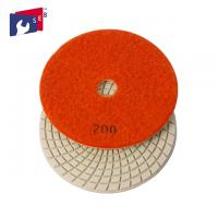 Quality Economic Loop Tape 3 Inch Polishing Pads High Gloss With Spiral Shape for sale