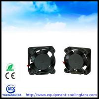 China Notebook CPU Cooling Fan , Small DC 5V 12V Cooling Motor Fan 25 x 25 x 10mm on sale