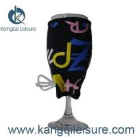 Buy cheap Neoprene Wine Glass Koozie from wholesalers