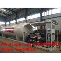 China 30m3 15tons skid lpg gas  station with lpg gas dispenser for sale, Wholesale bottom price 30,000L skid lpg gas plant on sale