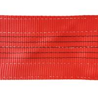 Buy cheap Red Color Flat Polyester Woven Webbing Sling / Polyester Sling Belt TSWB05-7 from wholesalers