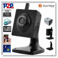 China HD network 1.0mp WIFI camera H.264 with IRcut SD card P2P Video Push Support Apple Android on sale