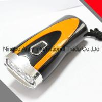 China Anfly portable rechargeable emergency dynamo led flashlighting dynamo led flashlight with CE and ROHs on sale