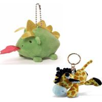China new fashion new stuffed plush banana keychain toy for baby on sale