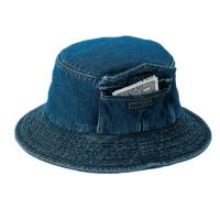 Quality Custom Pocket Cool Jean Bucket Hat For Four Season Personal Style SGS Certification for sale