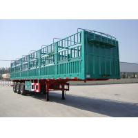 China CIMC fence cargo trailer 13 m best stake trailer with fence for bulk cargo transporting using on sale