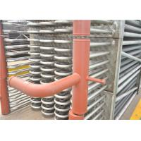 China Bare Tube Type Stainless Steel Boiler Economizer With Headers SCR System Recovery Flue Gas for sale