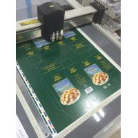 Quality Printed cardstock paper carton box cutting table for sale