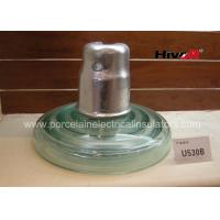 Quality Zinc Sleeve Available Toughened Glass Insulator With Ball / Socket Connect Way for sale