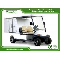 Quality Cargo Type Hotel Golf Buggy With 205 / 50 - 10 Tyre Sofa Chair/Trojan Battery for sale