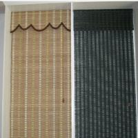 Quality Mould Proof Bamboo Roman Blinds , Roman Outdoor Bamboo Shades Office Use for sale