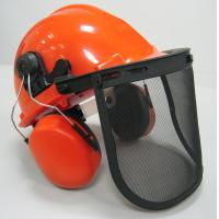 Best Safety Helmet, Face Shield and Ear Muff combination kit Forestry Safety Kit wholesale