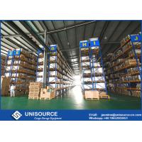 China Industrial Pallet Shelving For Warehouse , Adjustable Selective Pallet Racking System on sale