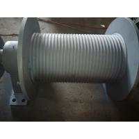 Buy Left Rotation Integrated Lebus Grooved Hoist Barrel For Winch Controlling at wholesale prices