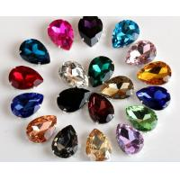 Quality Rhinestones Sew On Crystal Glass stones with claw acrylic rhinestone trimming for sale