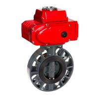 Quality WZLD Manual And Pneumatic Custom Temperature ASME B16.47 B Worm Gear Butterfly Valv for sale