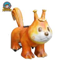 Quality Mechanical Walking Animal Ride Dinosaur Toys Appearance Customized Speed for sale