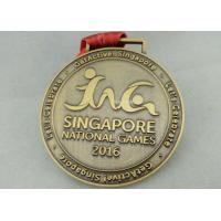 Best Zinc Alloy Die Casting Sport Medals , Customized Running Medals By Stamping wholesale