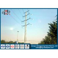Best 50FT 2 Sections 69KV Electrical Power Transmission Pole With Galvanization / Bitumen wholesale