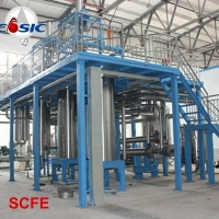 China 500L×3 Ganoderma Spore Oil  Supercritical CO2 Extraction Machine for sale