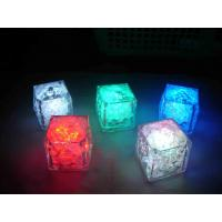 Quality White, Blue, Red, Green Assorted PE Glow Flashing Ice Cubes for Party, Dances for sale