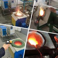 Quality Laboratory Medium Frequency induction melting furnace for steel aluminium melting for sale