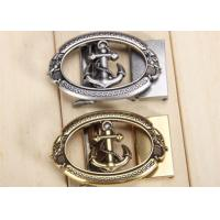 Quality Three Dimensional Classic Metal Belt Buckle With Various Plating And Enamel Coloring for sale