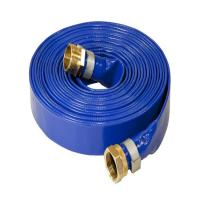 Quality inner emitter flat drip irrigation tape/ PVC Layflat Hose for Water Irrigation tube for sale