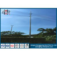 Best Philippines Direct Burial Steel Tubular Pole 800daN for Transmission Line Project wholesale