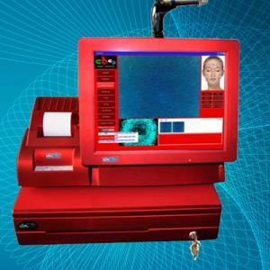 Quality Professional Facial Skin Analyzer, Digital Skin Test System, touch screen Skin Analyzer for sale