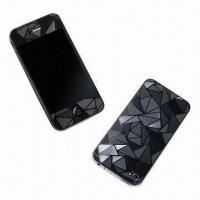 Quality 3D Crystal Skins for iPhone 4/4S, Anti-scratch and Water/Dust-resistant for sale