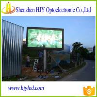 Quality P6 HD outdoor advertising full color led display panel led screen billboard for sale