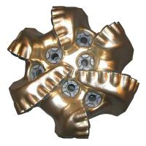 "Quality API 6"" 5-Blade Matrix Body Kingdream PDC Diamond Drill Bit for sale"