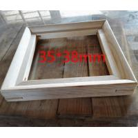 Quality Assessed Supplier Ready hung assembled factory customized Wooden PVC photo frame for sale