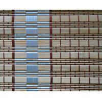 Quality Elegant Bamboo Vertical Blinds , Roman Outdoor Bamboo Shades Beautiful Pattern for sale