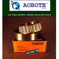 Quality Agriculture Timken Taper Roller Bearings With Single Row Heavy Duty for sale