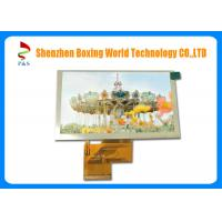 Quality 400 Brightness 5.0 inch TFT LCD Touch Screen 800 × 480 Pixels Super Wide Viewing Angle, RGB 40 pin, 500:1 contrast for sale