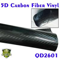 Quality 5D Carbon Fiber Car Wrapping Vinyl Film-samll T-will Carbon texture for sale