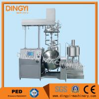 Stainless Steel Vacuum Emulsifying Mixer , Cosmetic Cream MixersWith PLC Control