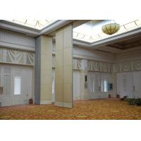 Quality Veneer Gypsum Acoustic Folding Partitions , Accordion Folding Partitions For Restaurant for sale