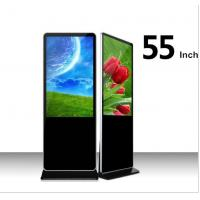 China Wholesale 55 inch LCD in convention Display Screen Android Floor Standing LCD Advertising Player with wifi on sale